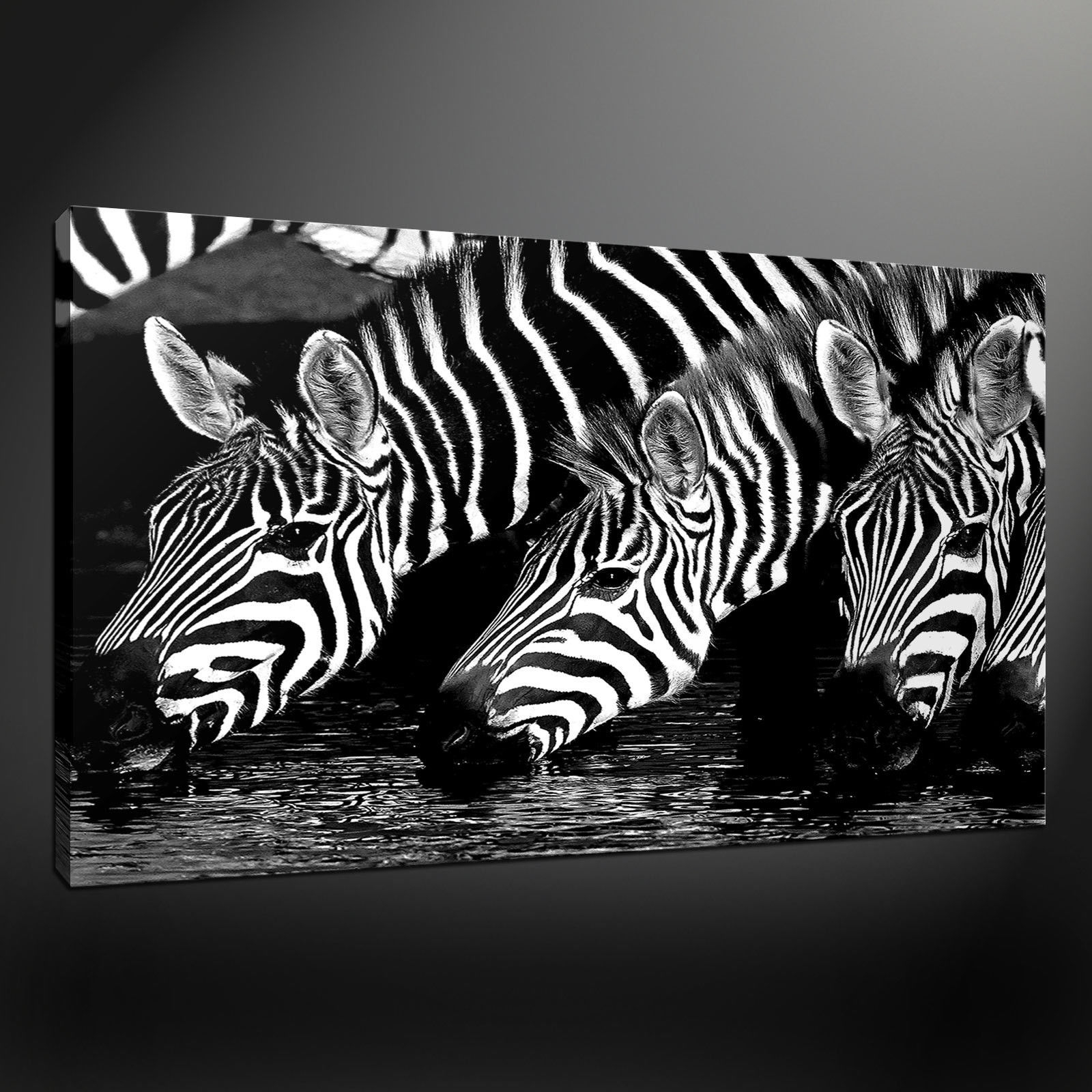Canvas Print Pictures. High Quality, Handmade, Free Next Day Delivery. intended for Newest Zebra Canvas Wall Art
