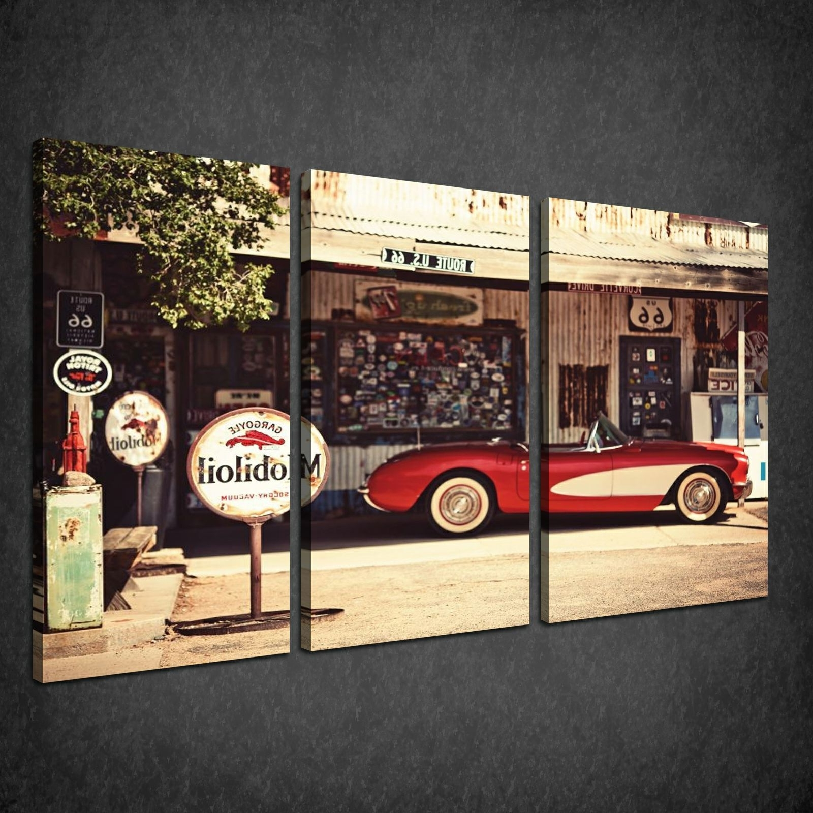 Car Canvas Wall Art In 2017 Canvas Print Pictures. High Quality, Handmade, Free Next Day Delivery (View 2 of 15)