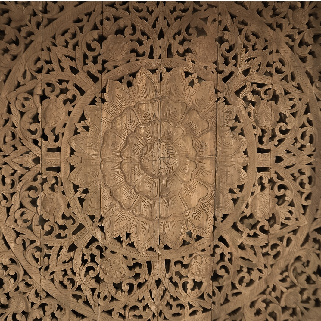 Carved Wood Wall Art Intended For Well Known Buy Large Grand Carved Wooden Wall Art Or Ceiling Panel Online (View 7 of 15)