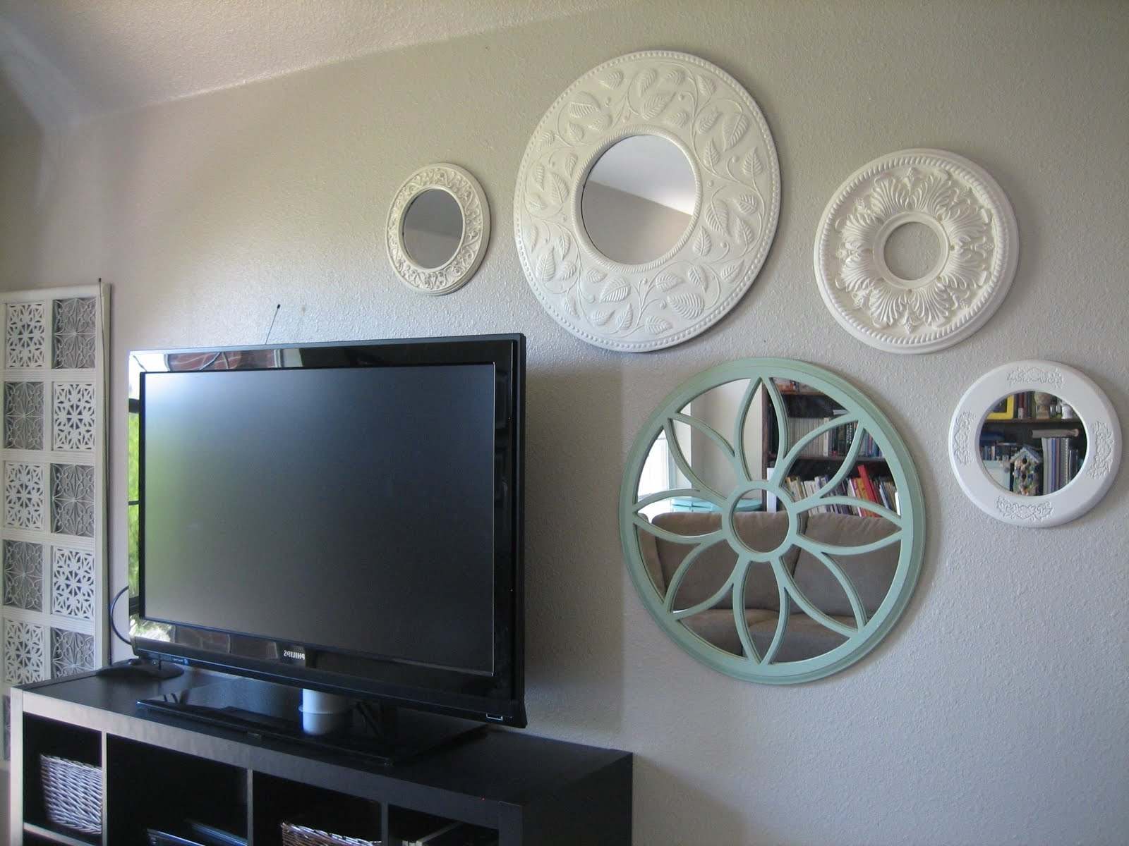Ceiling Medallion Wall Art With Regard To Trendy Awesome Ceiling Medallion Wall Art 97 On Trends Design Home With (View 7 of 15)