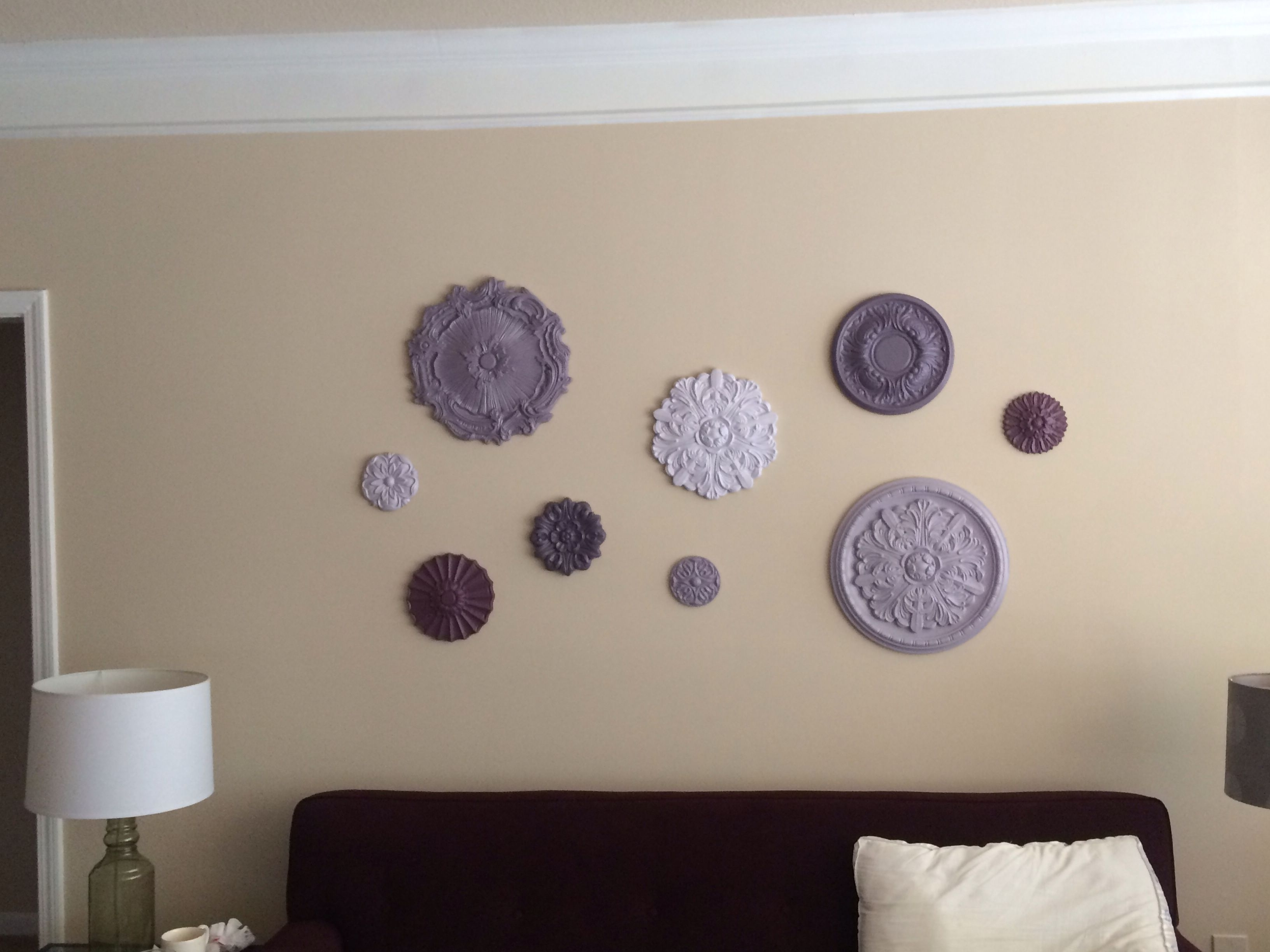 Ceiling Medallion Wall Art (View 1 of 15)