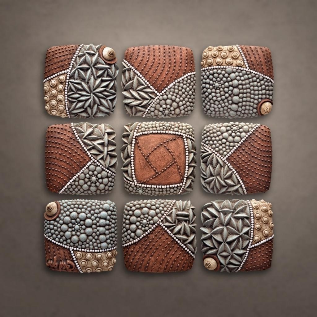 Ceramic Wall Art – Prix Dalle Beton Inside Trendy Ceramic Wall Art (View 3 of 15)