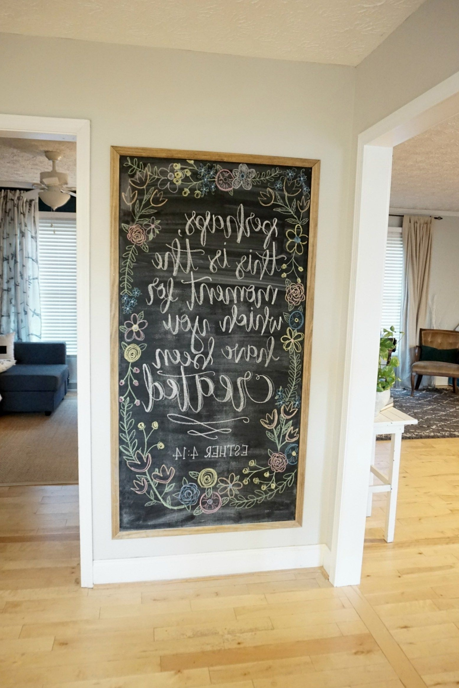 Chalkboard Inspirations (View 2 of 15)