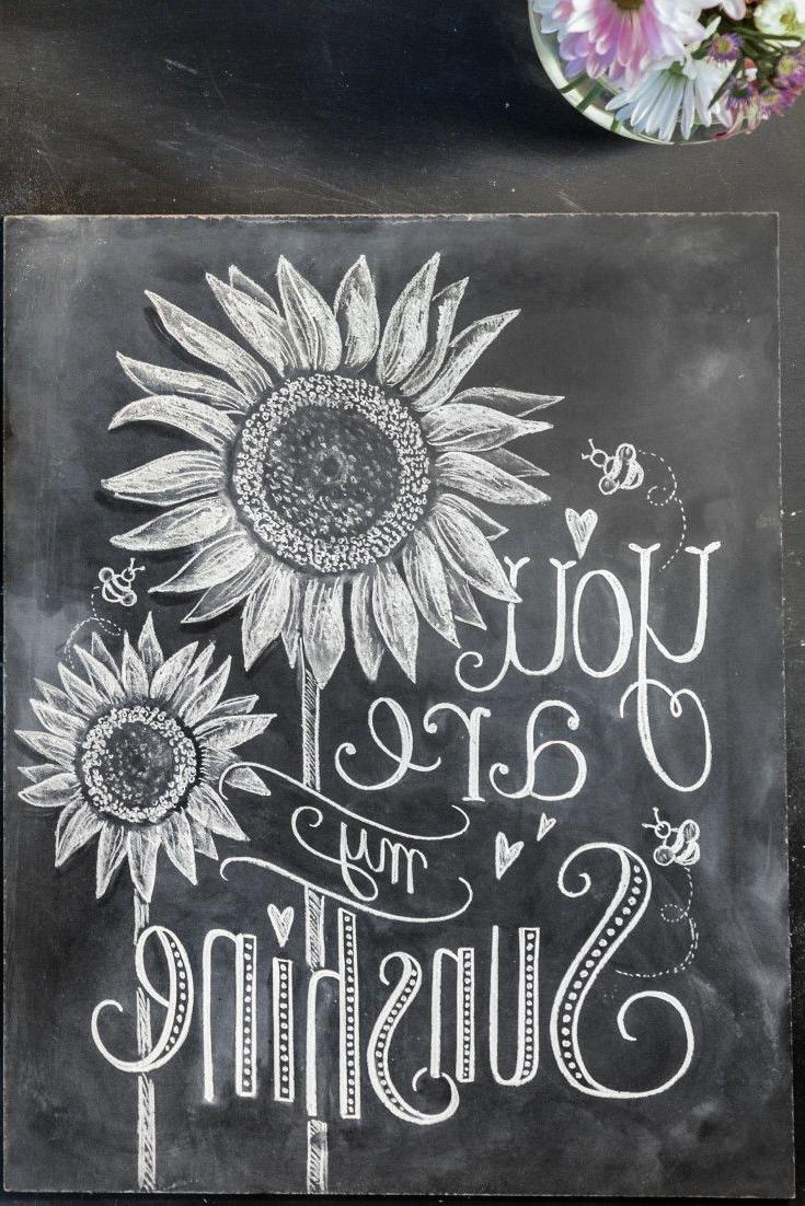 Chalkboard Wall Art Within Trendy Chalkboard Art Ideas 25 Best Ideas About Chalkboard Wall Art On (View 8 of 15)