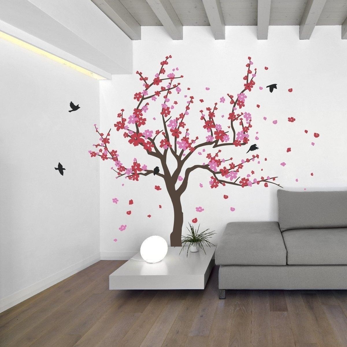 Cherry Blossom Wall Art Inside Most Recent Cherry Blossom Wall Art – Amthuchanoi (View 3 of 15)