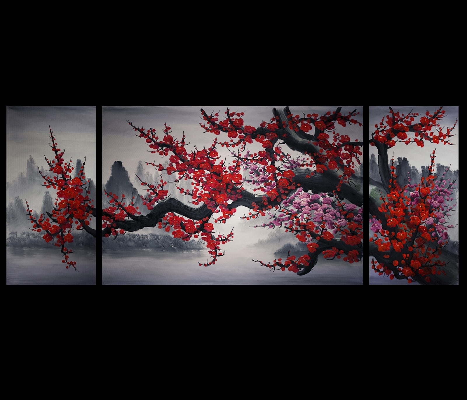 Chinese Wall Art Painting Download Chinese Wall Art (View 2 of 15)