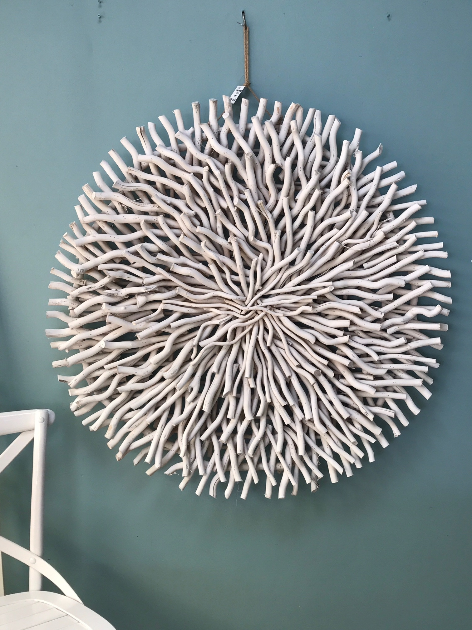 Circle Wall Art Pertaining To Favorite Delighful Wall Round Wall Art Art White Carved Wood Unique Whitewash (View 4 of 15)