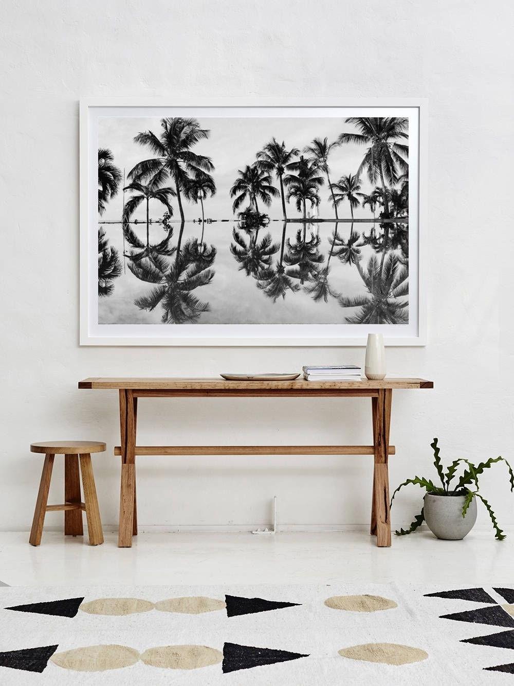 Coastal Wall Art Throughout 2017 Black And White Print, Coastal Decor Print, Tropical Print (View 7 of 15)
