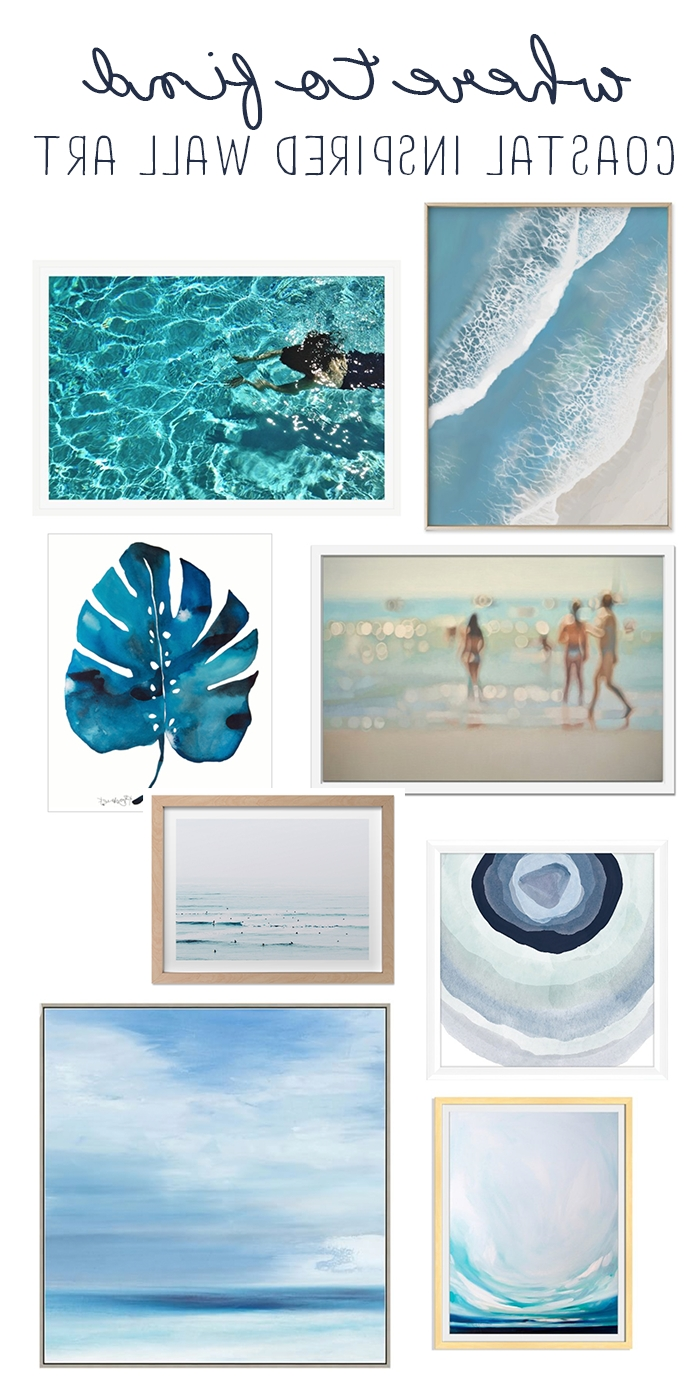 Coastal Wall Art – Where To Find Light And Bright Beachy Wall Art Throughout Most Up To Date Coastal Wall Art (View 5 of 15)