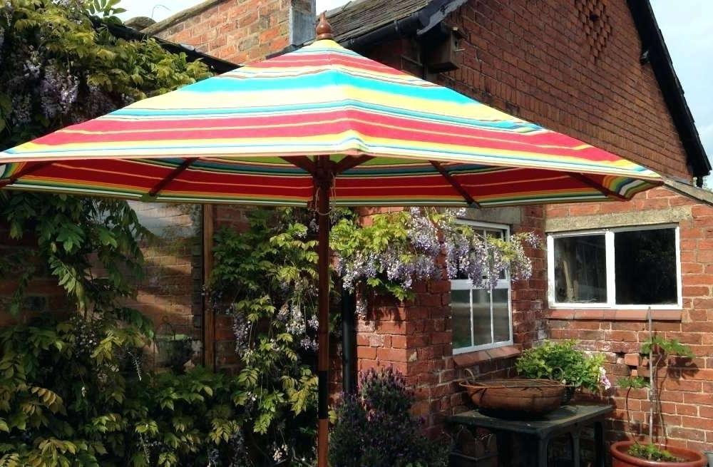 Colorful Striped Patio Umbrellas Multi Color Patio Umbrella Colorful For Best And Newest Striped Patio Umbrellas (View 1 of 15)