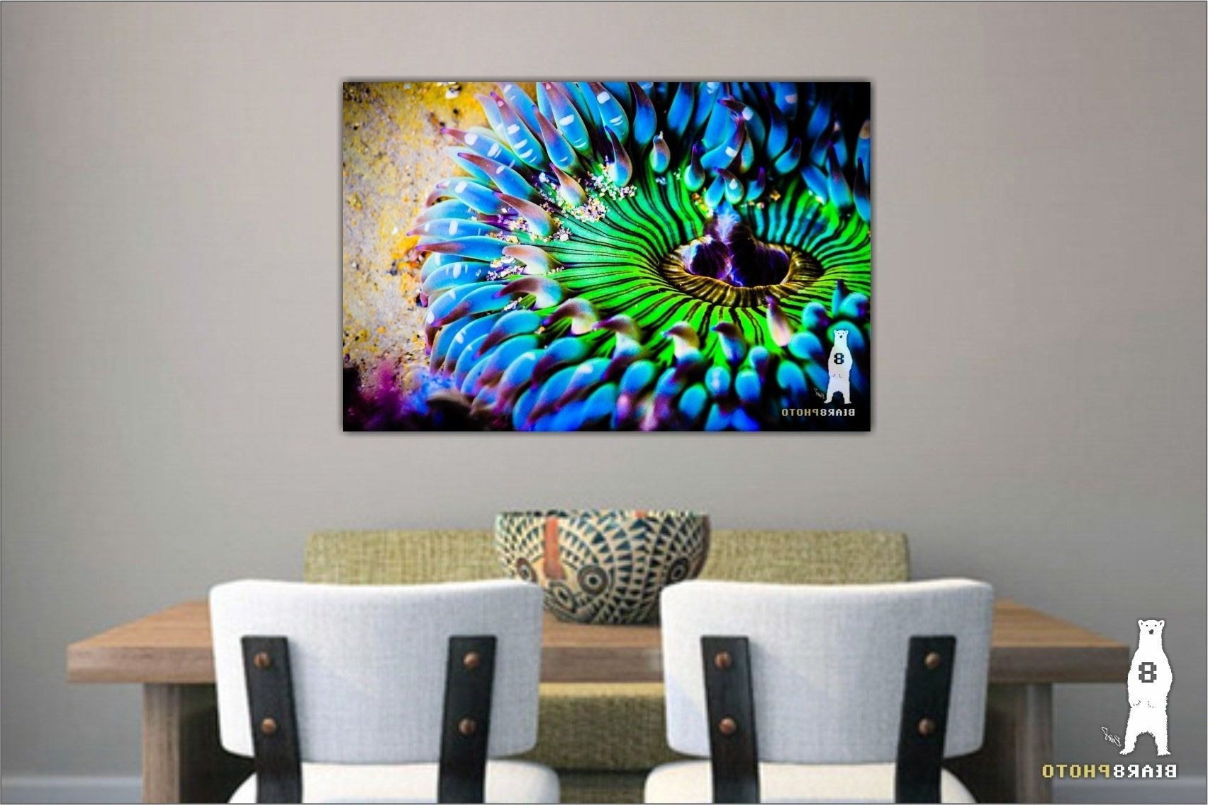 Colorful Wall Art, Bright Wall Art, Sea Life Prints, Bold And Pertaining To Current Colorful Wall Art (View 12 of 15)
