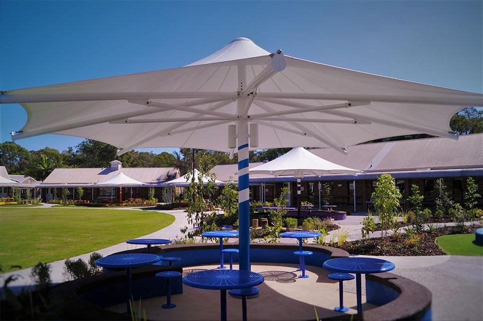 Commercial Heavy Duty Outdoor Umbrellas Gold Coast, Brisbane, Nsw For Favorite Heavy Duty Patio Umbrellas (View 8 of 15)