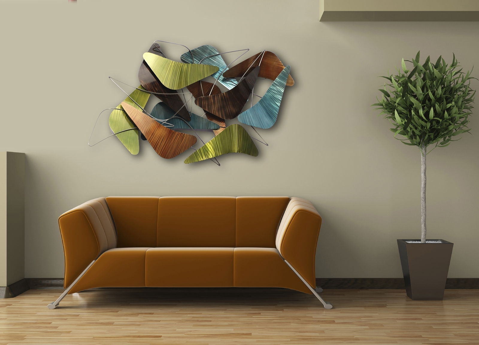 Contemporary Wall Art Throughout Preferred Unique Modern Wall Design For Living Room — Joanne Russo Homesjoanne (View 3 of 15)