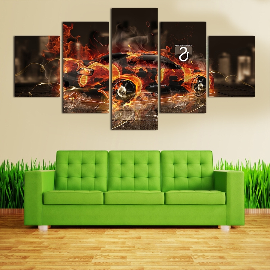 Cool Wall Pictures For Living Room : Modern Wall Pictures For Living Regarding Well Known Cool Wall Art (View 13 of 15)