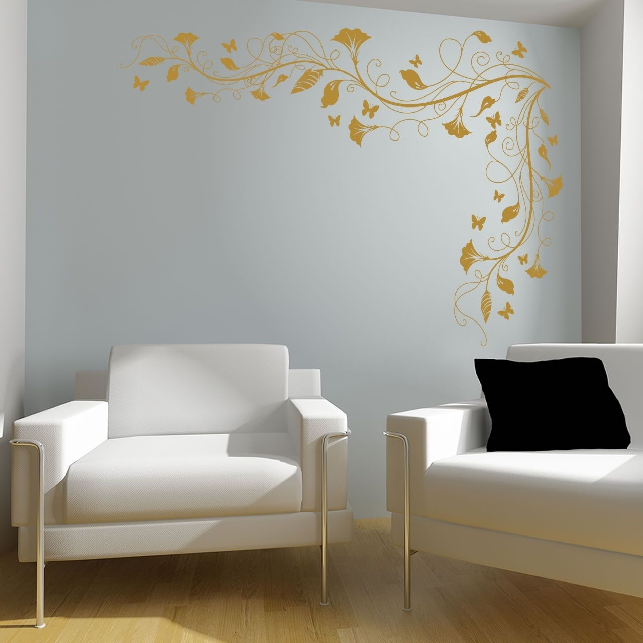 Corner Wall Art Inside Latest Spartacus Art – Wall Stickers / Decals / Transfers – Vines And (View 2 of 15)