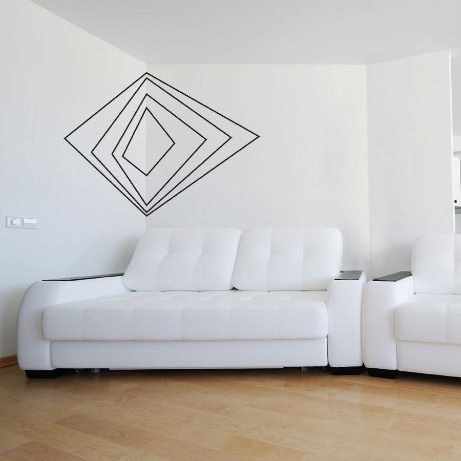 Corner Wall Art Regarding Well Known Corner 3D Art Wall Decal (View 1 of 15)