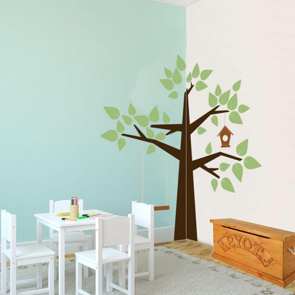 Corner Wall Decoration Ideas – Blogtipsworld With Regard To Recent Corner Wall Art (View 6 of 15)