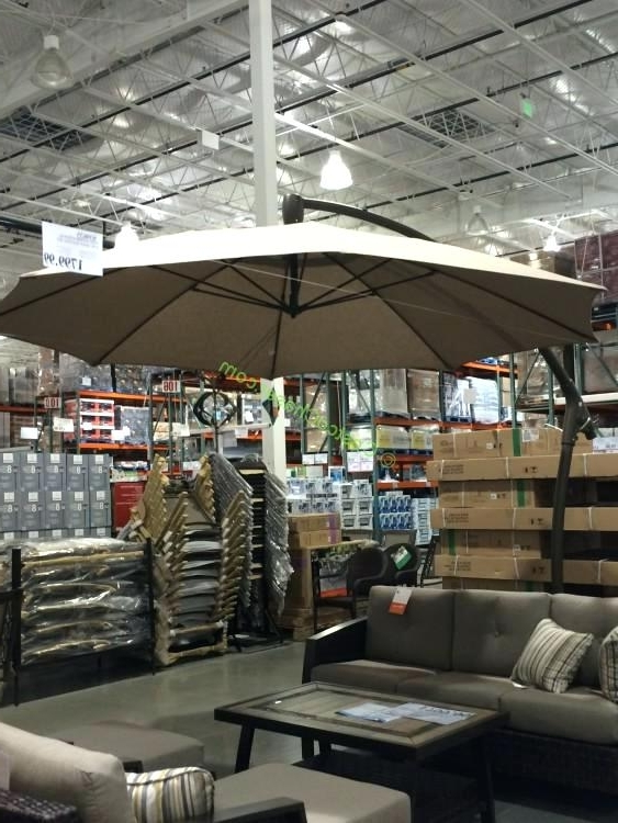 Costco Cantilever Patio Umbrellas With Preferred Idea Costco Patio Umbrellas Or Umbrella Umbrella Stand Outdoor (View 6 of 15)