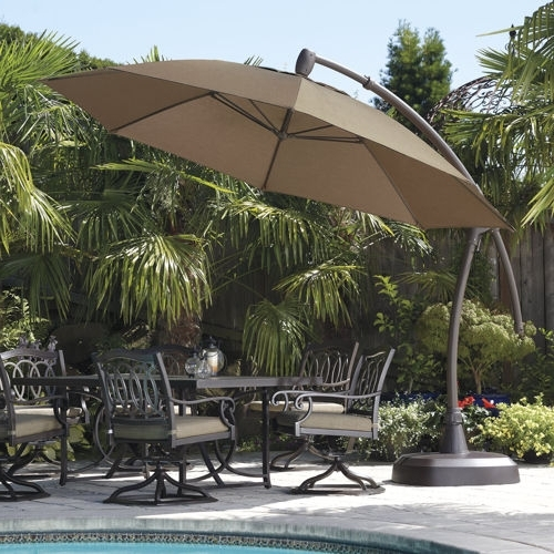 Costco Patio Umbrellas In Latest Cleaning Costco Patio Umbrella (View 1 of 15)