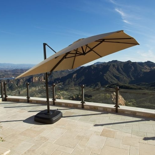 Costco Patio Umbrellas Throughout Most Recent Stunning Patio Umbrellas Costco Perfect Costco Patio Umbrella In (View 7 of 15)