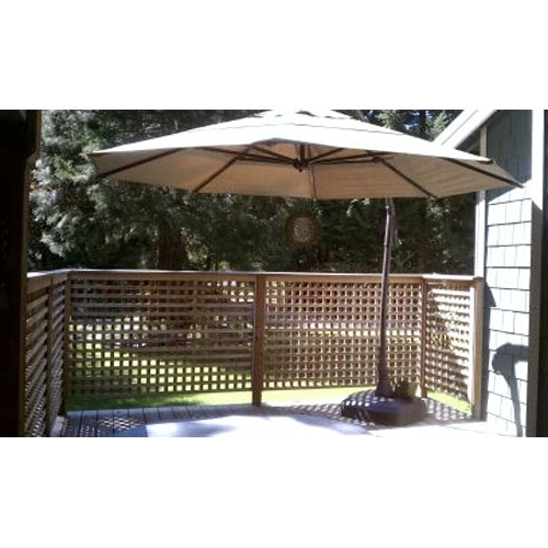 Costco Replacement Umbrella Canopy – Garden Winds With Regard To Famous Costco Cantilever Patio Umbrellas (View 7 of 15)