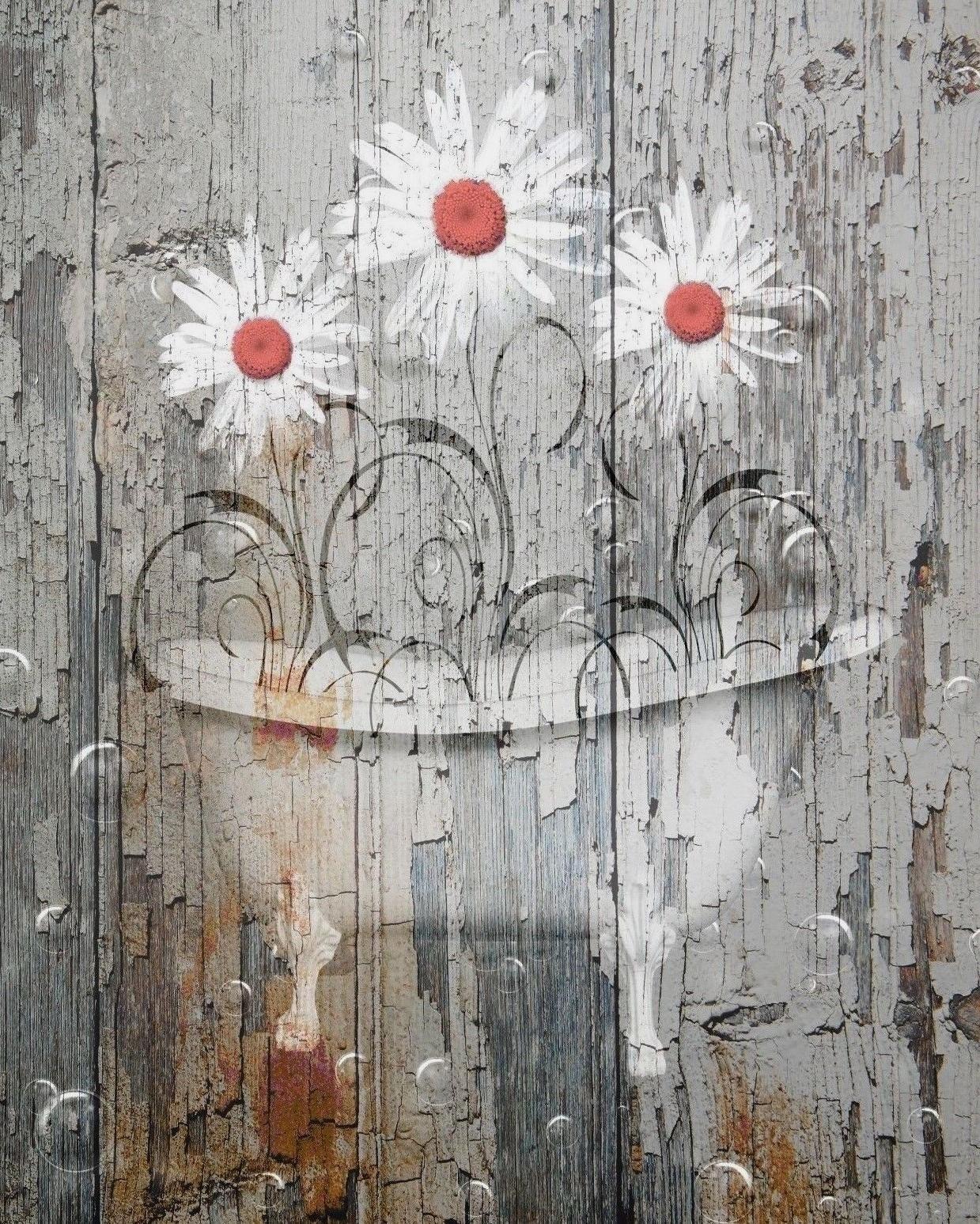 Country Wall Art Regarding 2017 Farmhouse Bathroom Vintage Rustic Bathroom Home Decor Country Bath (View 8 of 15)