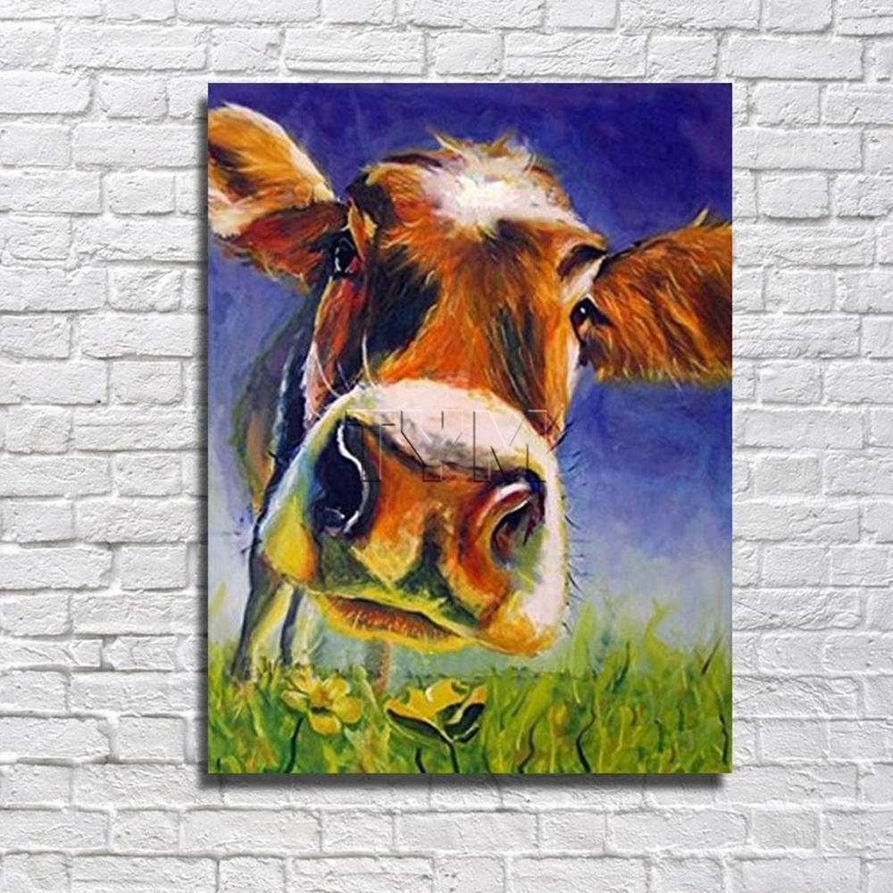 Featured Photo of Cow Canvas Wall Art