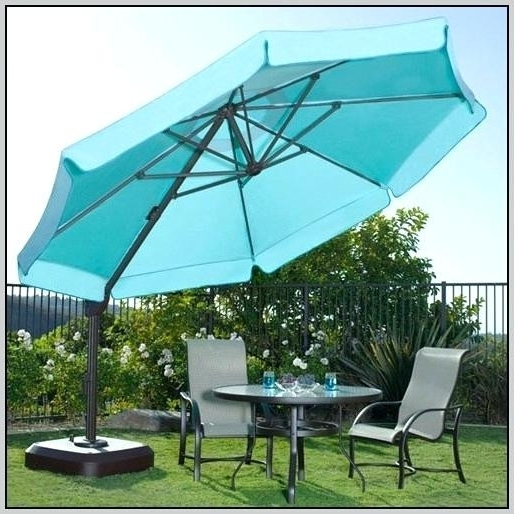 Current 11 Foot Patio Umbrellas Within 11 Foot Patio Umbrella Sunbrella Various 11Ft Market Umbrellas 11 Ft (View 1 of 15)