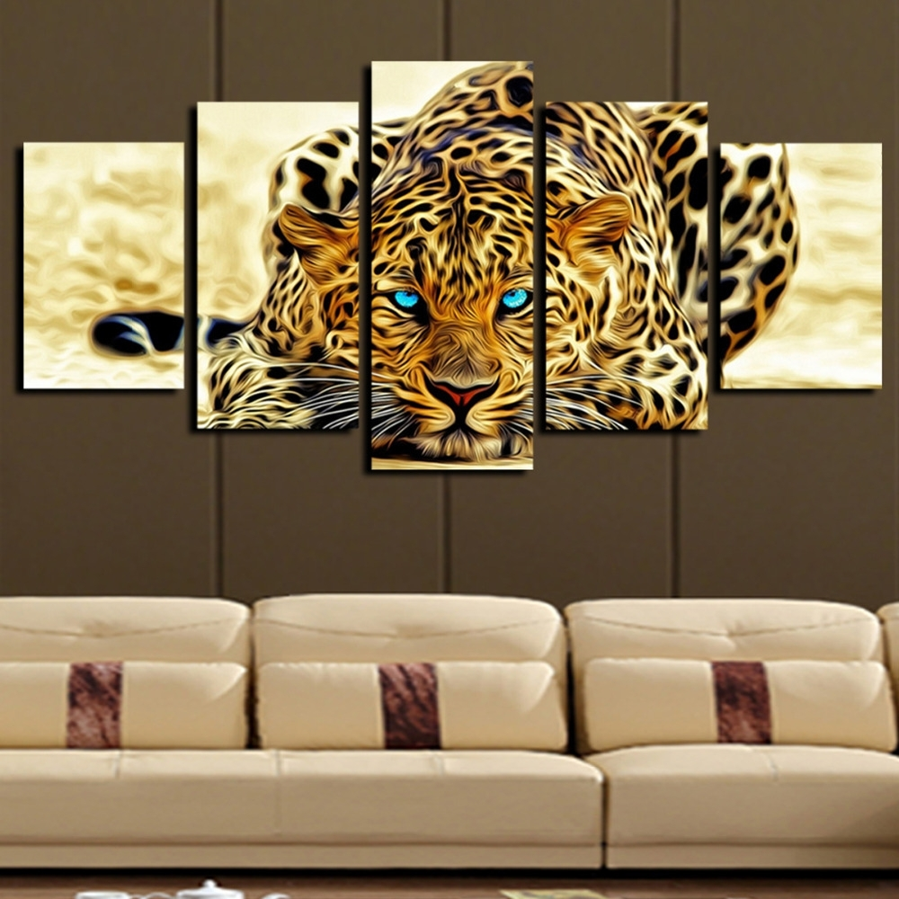 Current Animal Canvas Wall Art Regarding Animal Canvas Wall Art – Elitflat (View 14 of 15)
