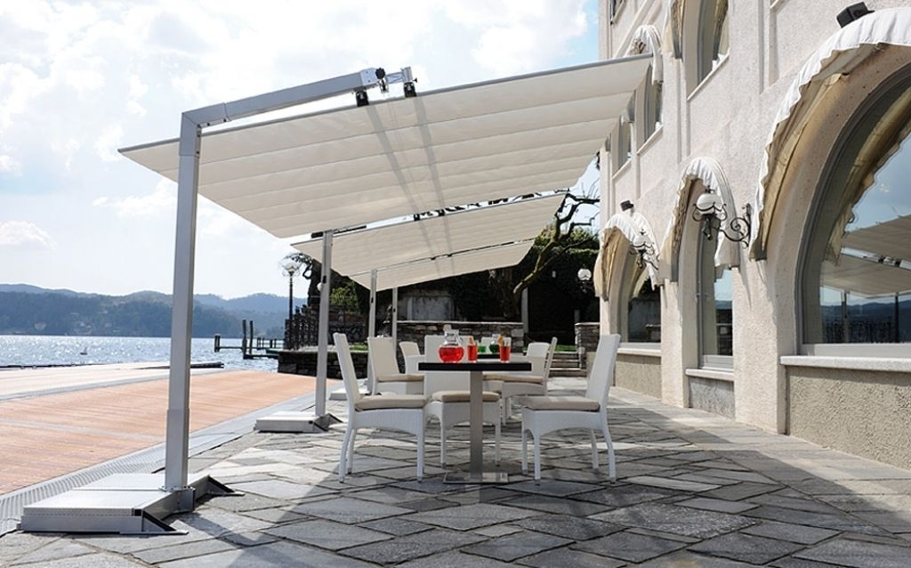 Current Cantilever Patio Umbrellas With Regard To Cantilever Patio Umbrellas Patio Umbrella Flex Offset (View 7 of 15)