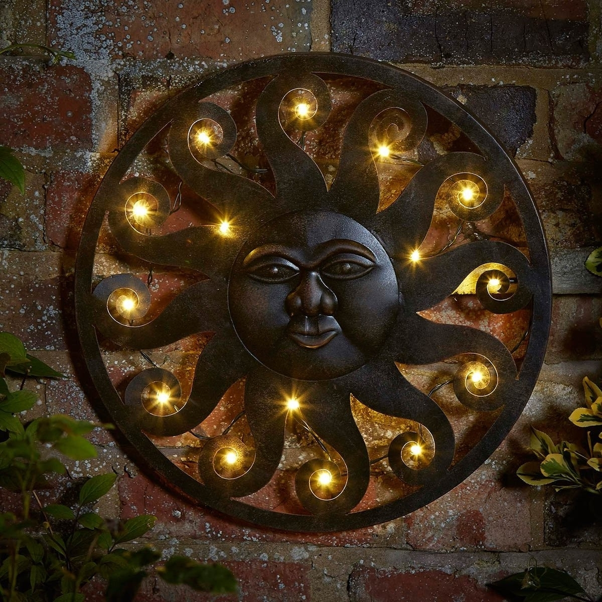 Current Celestial Sun Led Wall Art (View 2 of 15)