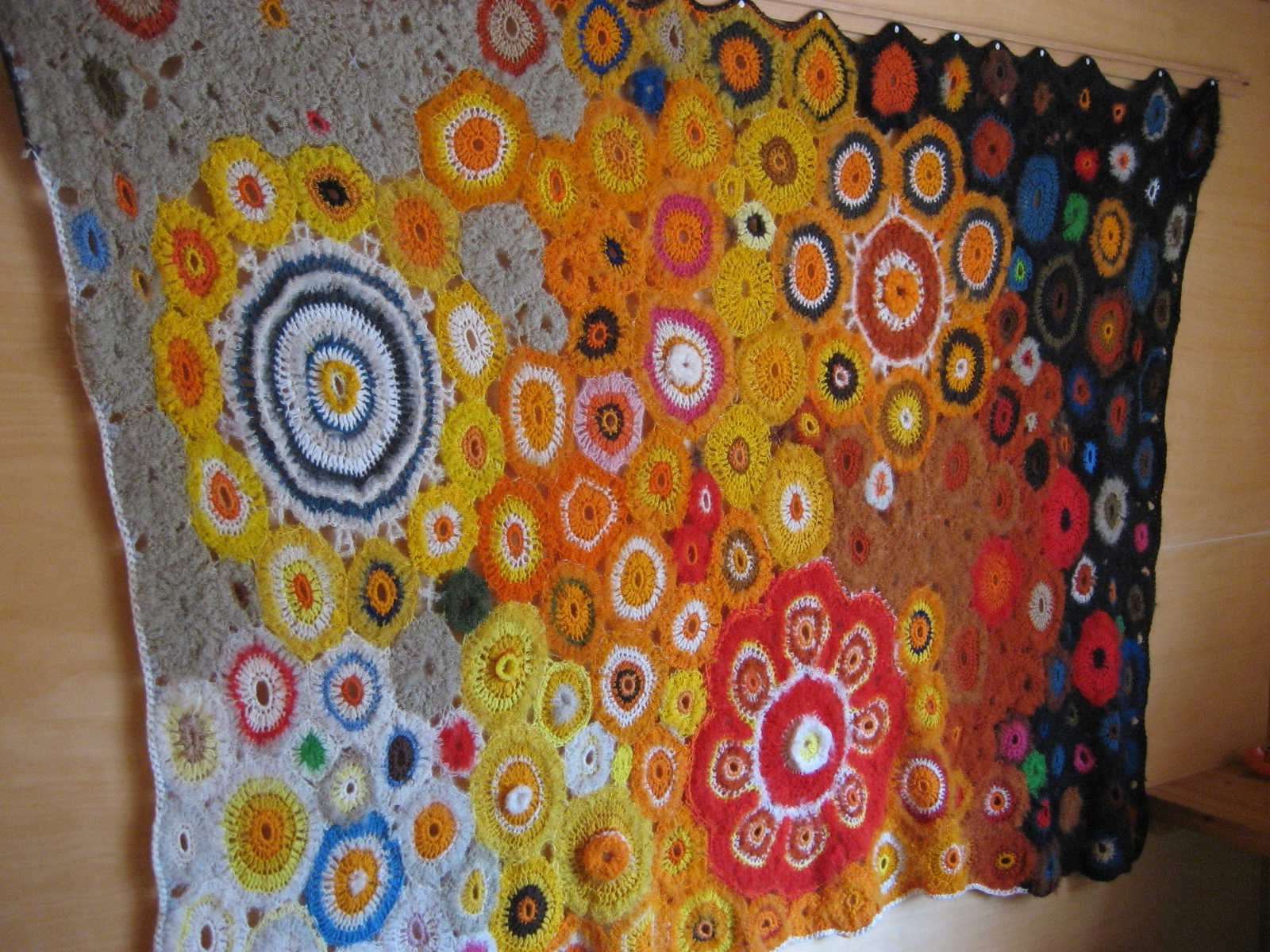 Current Crochet Wall Hanging (View 9 of 15)