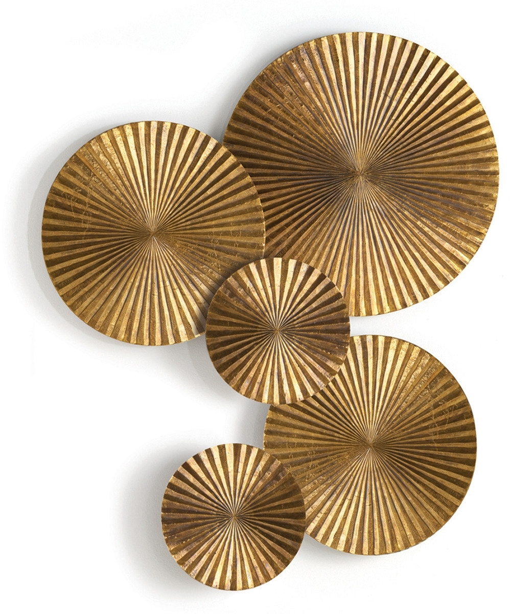 Current Gold Wall Art For Wall Decoration (View 4 of 15)