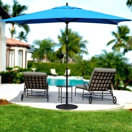 Current Hampton Bay Patio Umbrella And Led Round Offset Patio Umbrella In Regarding Hampton Bay Patio Umbrellas (View 4 of 15)