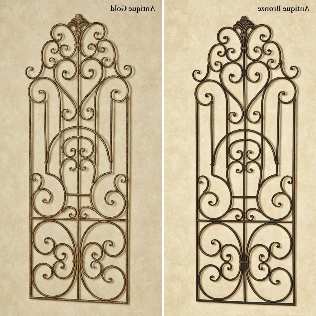 Current Hobby Lobby Metal Wall Art In Reputable Outdoor Wrought Iron Decor Wrought Iron Wall Decor Hobby (View 3 of 15)