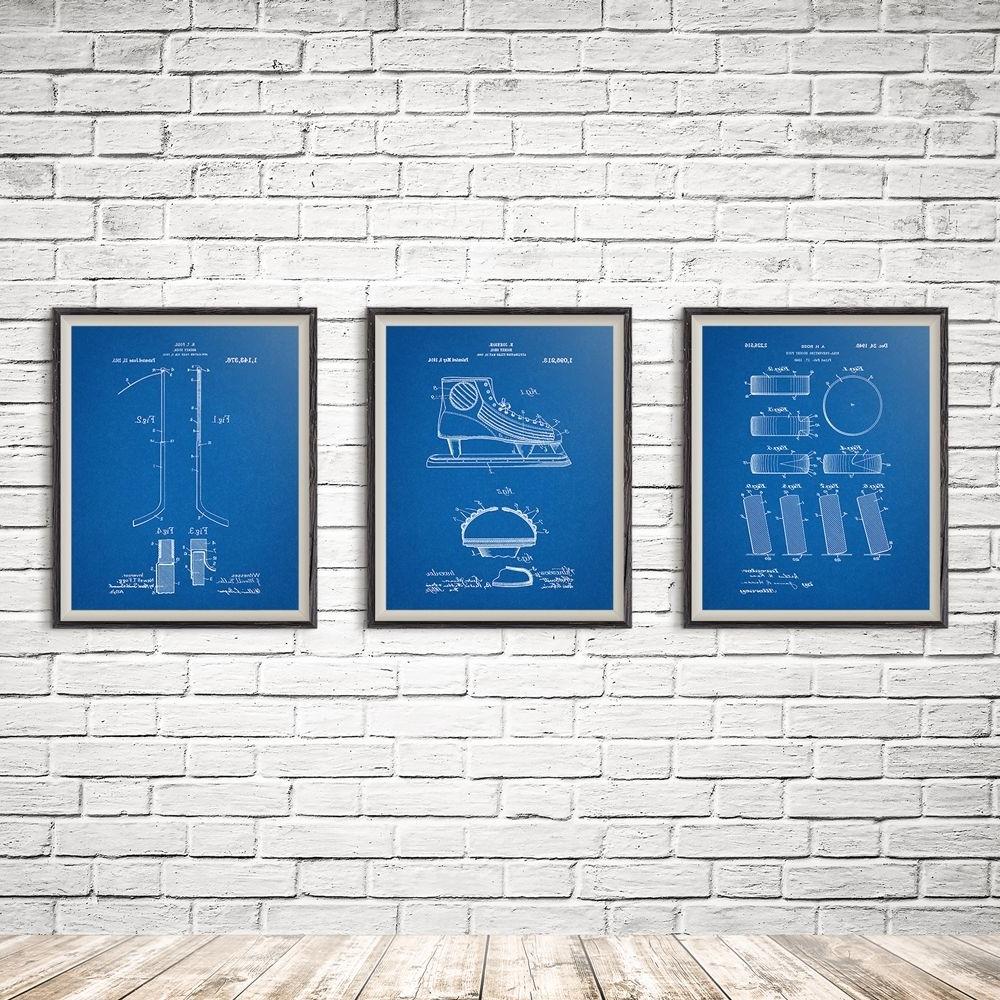 Current Hockey Decor, Hockey Skate, Ice Skate, Hockey Mom, Nhl, Hockey Within Hockey Wall Art (View 3 of 15)