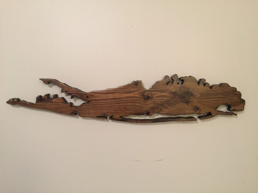 Current Long Island Wall Art With Long Island Wall Art Wood Map Ny North Fork Framed Outdoor New York (View 1 of 15)