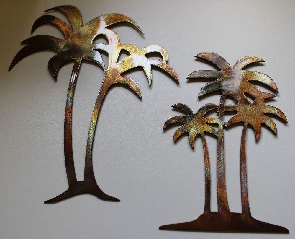 Current Metal Palm Tree Wall Art : Andrews Living Arts – The Charm Of Palm With Palm Tree Wall Art (View 3 of 15)