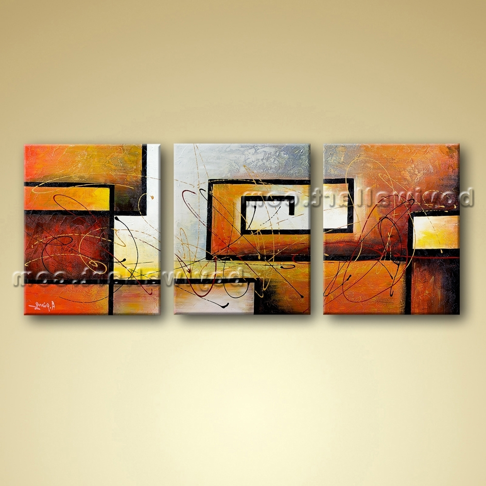 Current Modern Framed Wall Art Canvas Inside Contemporary Framed Wall Art – Elitflat (View 3 of 15)