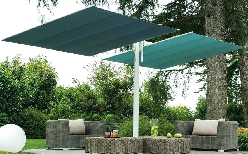Featured Photo of Rectangular Sunbrella Patio Umbrellas