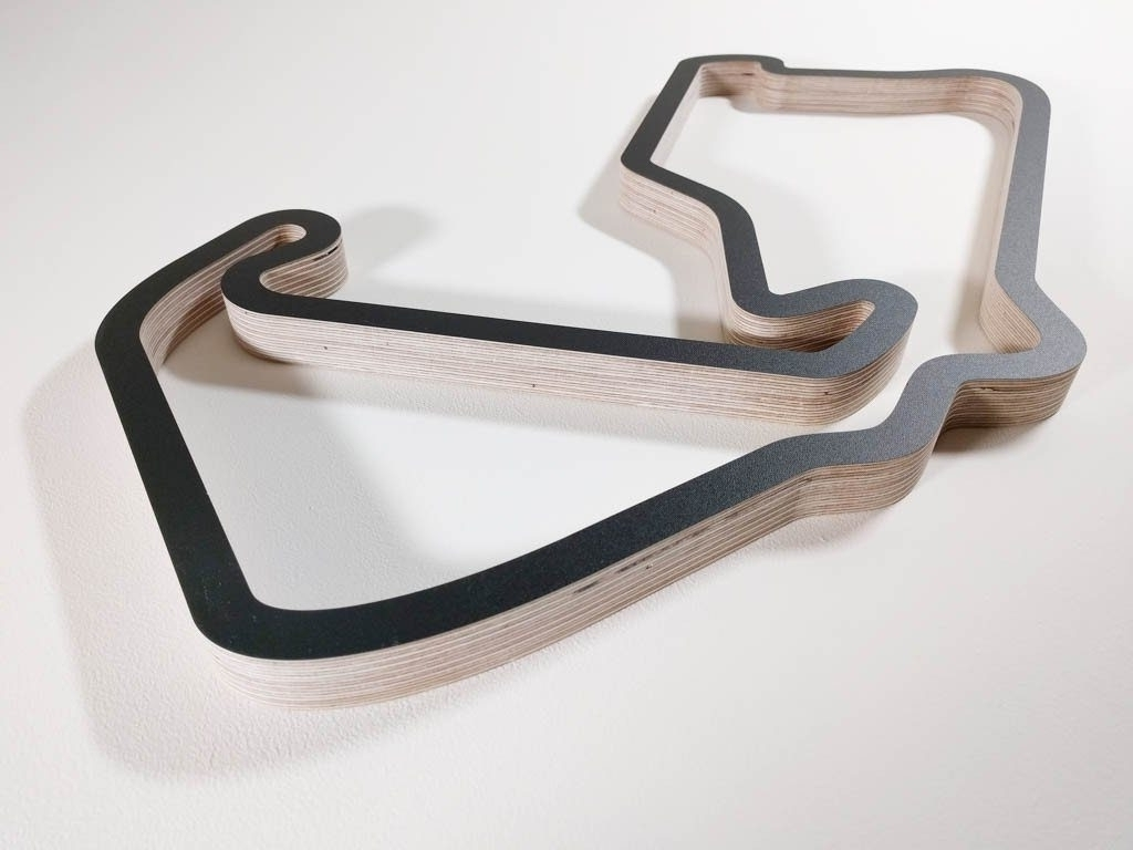 Current Race Track Wall Art For Peachy Design Ideas Race Track Wall Art In Conjunction With Within (View 13 of 15)
