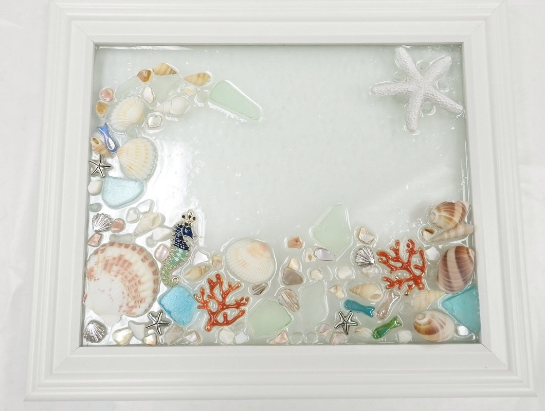 Current Sea Glass Wall Art Class – Virginia Beach Beads In Sea Glass Wall Art (View 4 of 15)
