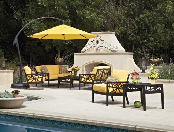 Current Umbrellas – Labadies Patio Furniture Intended For Yellow Sunbrella Patio Umbrellas (View 12 of 15)