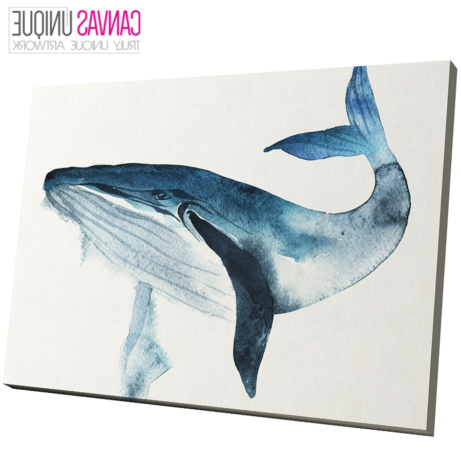 Featured Photo of Whale Canvas Wall Art