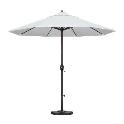 Current White Patio Umbrellas In White – Market Umbrellas – Patio Umbrellas – The Home Depot (View 9 of 15)