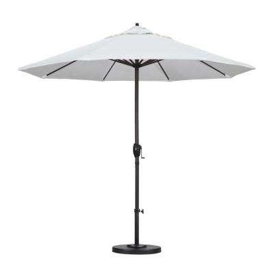 Current White Patio Umbrellas In White – Market Umbrellas – Patio Umbrellas – The Home Depot (View 3 of 15)