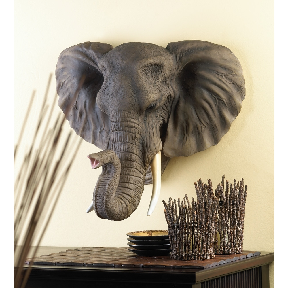 Current Wholesale Noble Elephant Wall Decor – Buy Wholesale Animal Figurines Within Elephant Wall Art (View 4 of 15)