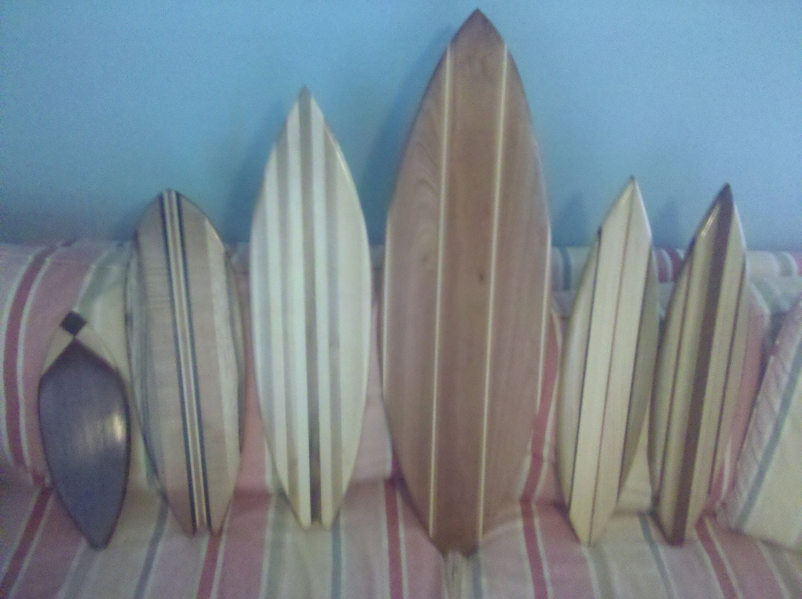 Custom Made Medium Surfboard Wall Artgood Surf Skateboards With Famous Surfboard Wall Art (View 3 of 15)