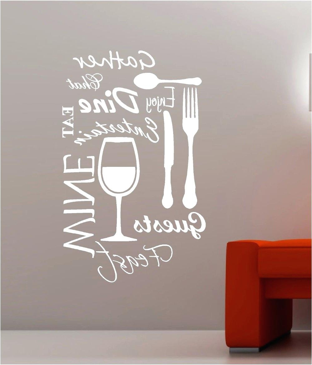 Custom Wall Word Decals Wall Design Word Art For Walls Inspirations Throughout Popular Word Art For Walls (View 12 of 15)