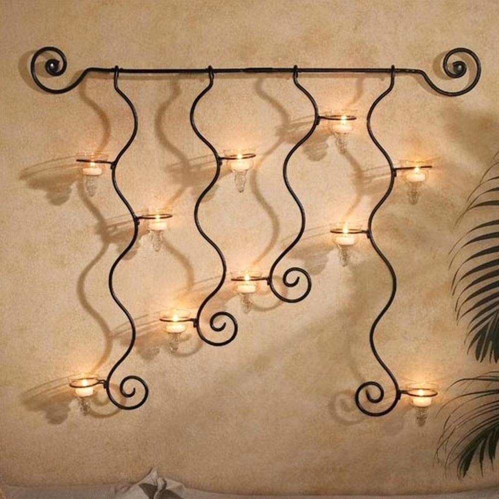 Cute Charming Iron Wall Decor Easy Diy Art Home Decor Metal Wall Art Intended For Most Recently Released Metal Wall Art Decors (View 1 of 15)